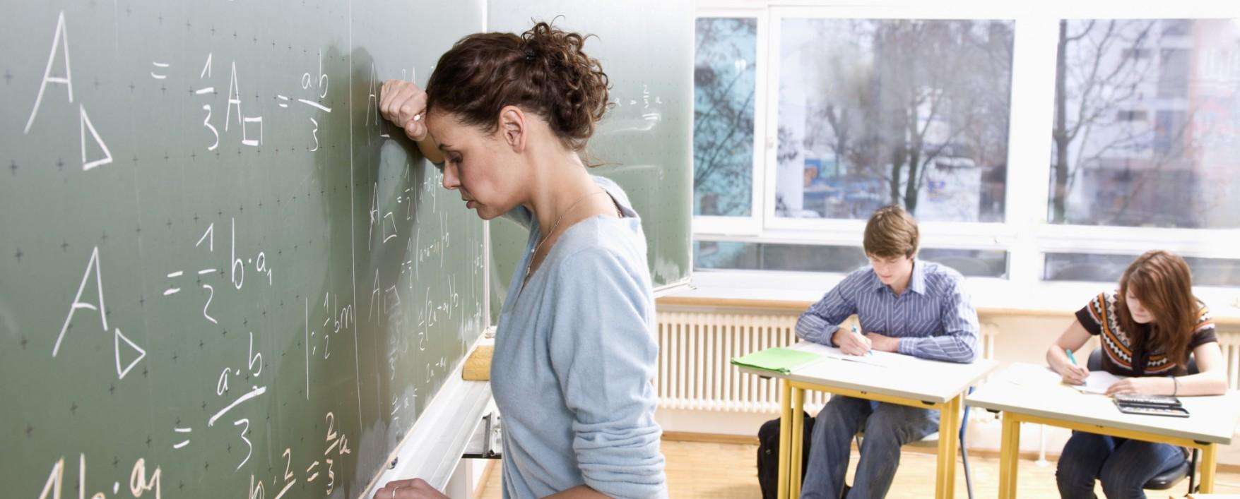 A Consequência Do Stress Nos Professores